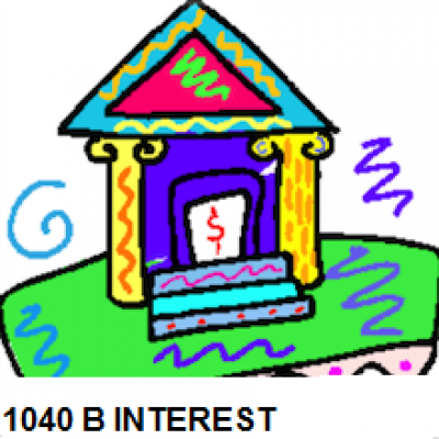 1040 Schedule B Interest & Dividends